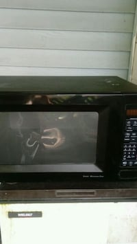 black Hamilton Beach microwave oven Orange County