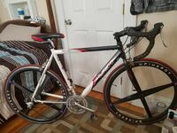 red and black Fuji triathlon bicycle