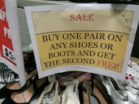 BOGO FREE Assorted Shoes Women and Kids Huntsville