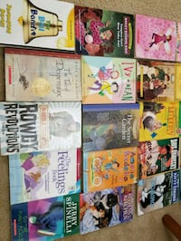 assorted-title book lot Falls Church, 22046