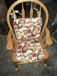 Solid woods kids rocking chair Pickering