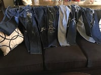 Men's hollister skinny jeans . I have 5 pair of jeans for sale at $10 each pair San Antonio, 78223