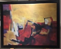Modern painting/ on canvas / oil / like new / very beautiful and modern