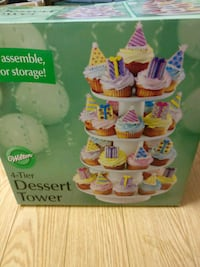 4-Tier Dessert Tower