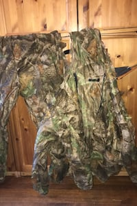 Jacket and pants sniper camouflage net suit