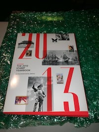 2013 stamp yearbook Severn, 21144