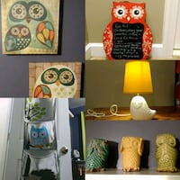 ($30)Owl themed nursery/small child's room decor Haymarket, 20169