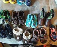baby's assorted shoe lot
