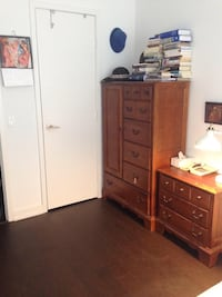 Vintage Cupboard/Drawers/Dresser with 2sidebeds Drawers.Price Reduced. Toronto, M5T