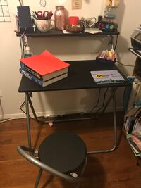 Folding Desk and Folding Chair