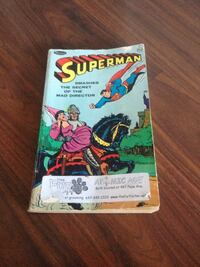 Superman comic book 1966