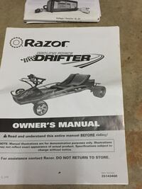 2 - Razor electric drift carts Midlothian, 23112