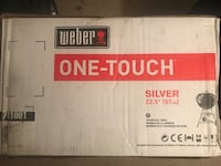 """Weber Grill One Touch Silver 22.5"""" Charcoal Grill Gilberts, 60136"""