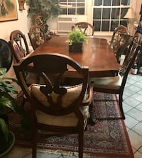 Dining Table Wood - $799 OBO Centreville