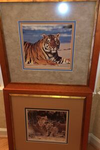 Lovely Lion Pictures Encased in Custom All-Wood Frames Bowie, 20721
