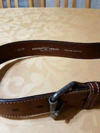 Authentic Emporio Armani belt Burnaby, V5H 2M8