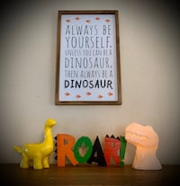 Dinosaur Decor Lot for childs room