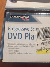 DVD Player with Box