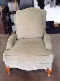 2 - Living Room Chairs with ottoman
