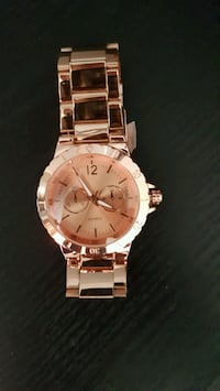 Rose Gold-Watch