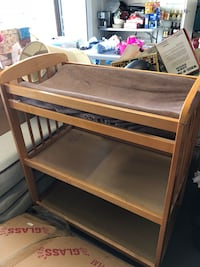 Brown wooden Changing Table Costa Mesa, 92626