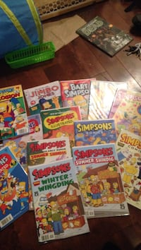13 Simpsons comics Windsor, N8W 2W2