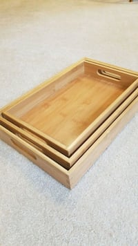 Stackable trays Fairfax, 22030