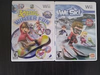 2 Wii Games: Skiing & Winter Theme Fort Meade