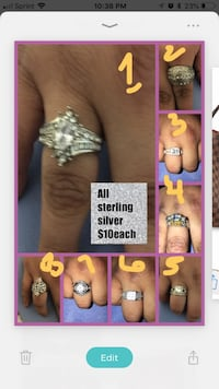 Sterling silver mention # if interested  McAllen, 78501