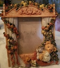 Vintage Teddy Bear Picture Frame  Fall River