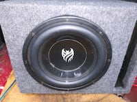 10 inch sub for sale and amp 549 mi