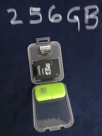 New 256gb verbatim micro sd card with adapter  Toronto, M9L 2H8