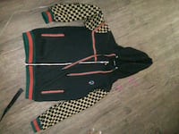 black and red zip-up hoodie Winnipeg, R2W
