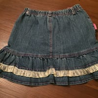 Girls blue denim skirt size 6-7  Winnipeg, R2H 2V7