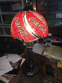 red and black Budweiser table lamp Westerville, 43081