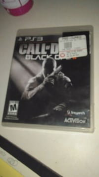 Call of Duty Black Ops 2 PS3 game case null