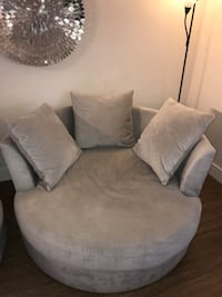 Z Gallerie snuggle chair (new) West Covina, 91790