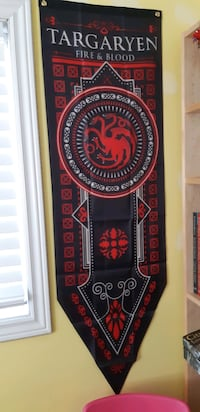 Game of Thrones GOT House Banner Flags - Stark, Targaryen
