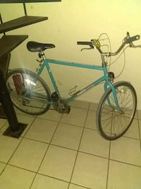 blue and black hardtail bike Belleview, 34420