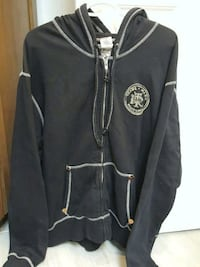 black and white zip-up hoodie Richmond, V6V 2L8