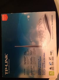 Tp-link modem router all in one in box