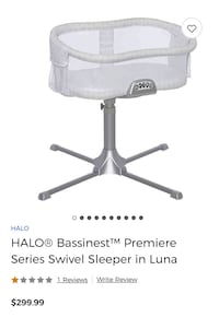 Never used HALO Bassinet & accessories Pickering, L1V 3Y3