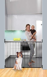 NEW Dreambaby Broadway Extra Wide and Tall Expandable Gate Mississauga
