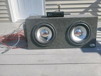 Complete Mobile Sound System (Subwoofer, Capacitor, & Pioneer Stereo)