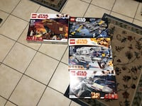 4 Star Wars LEGO sets unopended  Albany, 12203