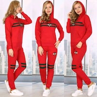 Brand new women's red Gucci suit    Calgary, T2K 4J8