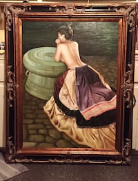 Very beautiful Large Framed Painting  2237 mi