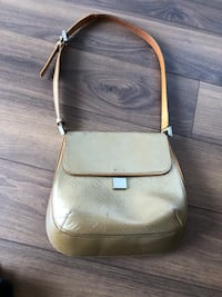 Louis Vuitton authentic vintage gold bag