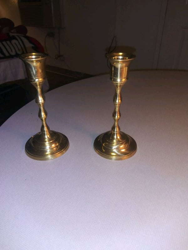 Brass Candle Holders 7dc92ffd-fc9d-4f11-9cd7-715afc4016c1