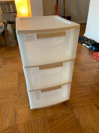Container Store Three-Drawer Storage Bin